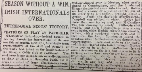 Ireland's Saturday Night (13th March 1920)