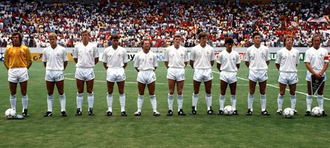 World Cup Mexico 86 - Group D - Spain v Northern Ireland