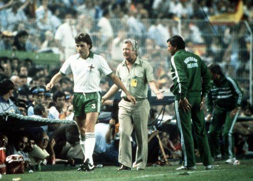 Spain v Northern Ireland 1982