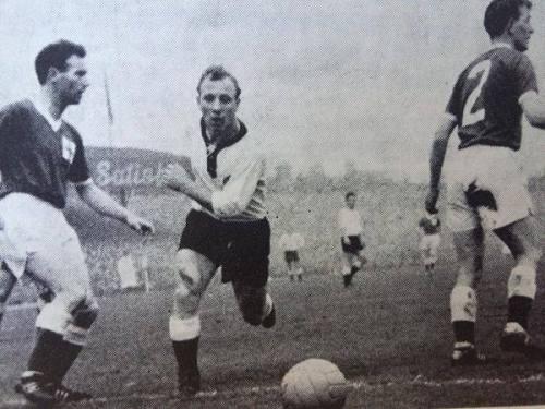 Tommy Forde, Uwe Seeler & Dick Keith