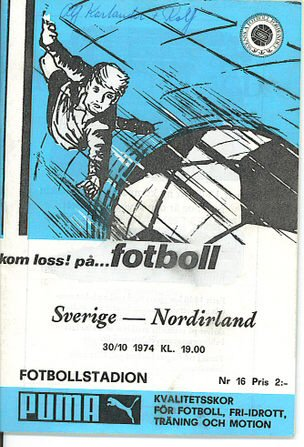 SwedenvNI1974